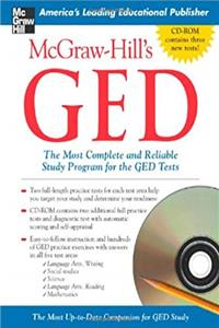 McGraw-Hill's GED w/ CD-ROM: The Most Complete and Reliable Study Program for the GED Tests ebook