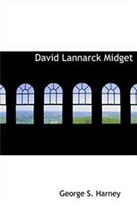 David Lannarck  Midget (Large Print Edition)