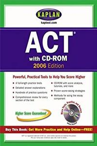Kaplan ACT 2006 with CD-ROM ebook