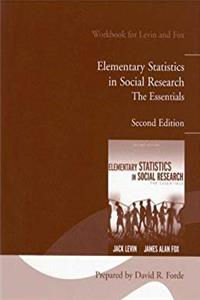 Student Lab Manual for Elementary Statistics in Social Research: The Essentials