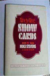 Ninety-nine show cards: A photo album (Signcraft technical series) ebook