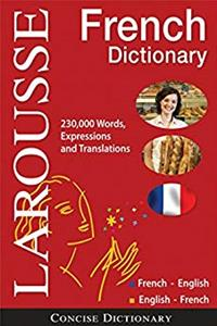 Larousse Concise French-English/English-French Dictionary (French and English Edition)