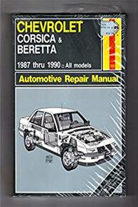 Chevrolet Corsica and Beretta 1987-90 Owner's Workshop Manual