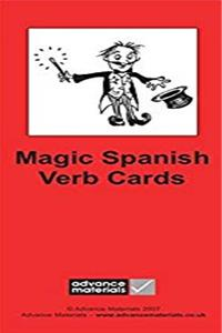 Magic Spanish Verb Cards Flashcards (8): Speak Spanish more fluently! (Spanish Edition)