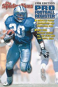 The Sporting News Pro Football Register 1998