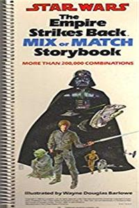 Star wars, the empire strikes back mix or match storybook: More than 200,000 combinations