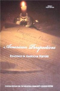 American Perspectives: Readings in American History (Volume I)